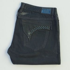 New Men's ROBIN'S JEAN sz 42 Straight Studded Jean